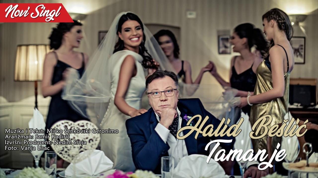 Halid Beslic - Taman je (Official Video 2018) HD