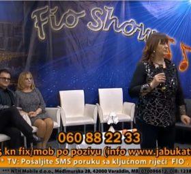 Snjezana Maricic Turopoljcu pjevam Fio Show Jabuka tv