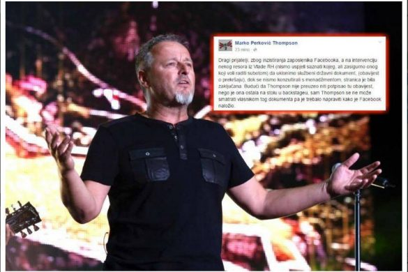 Thompson se opet oglasio na Facebooku
