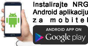 NRG Android aplikacija